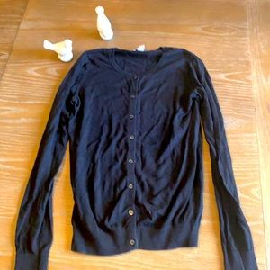 Old navy black button up cardigan